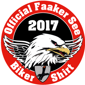 Official Faaker See Biker Shirt Patch 2017 Patch 6cm