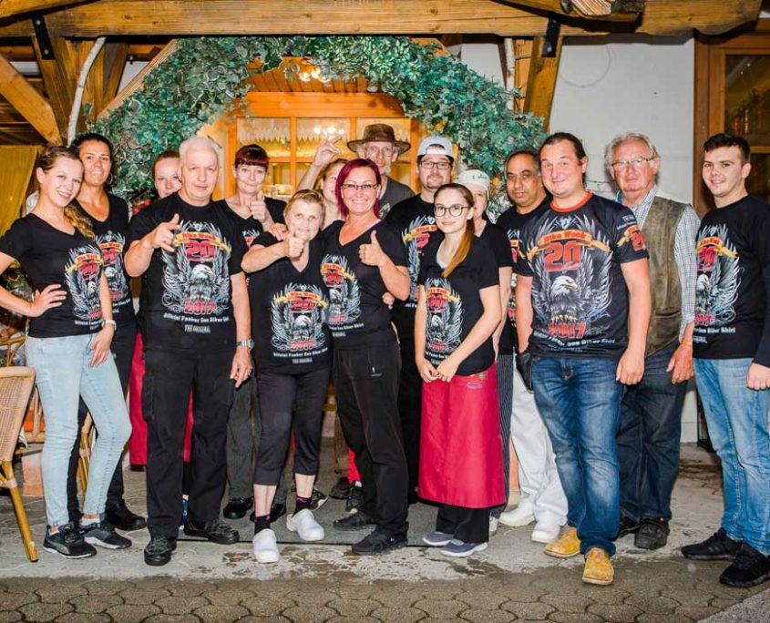 Camping Anderwald Fakir See Biker Shirt 2017