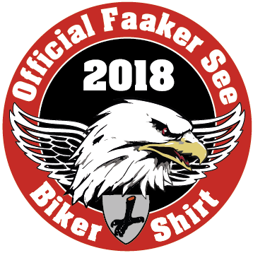 Official Faker See Biker Shirt Patch 2018 6cm