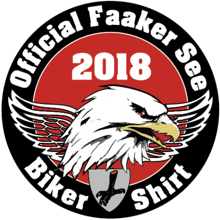 Official Faker See Biker Shirt Patch 2018