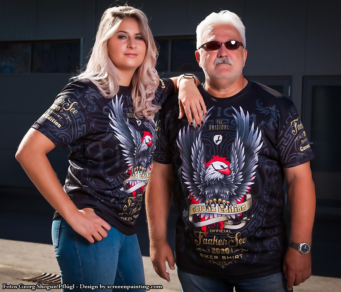 Official Faaker See Biker Shirt All Over Loren und Alex c Pfluegl